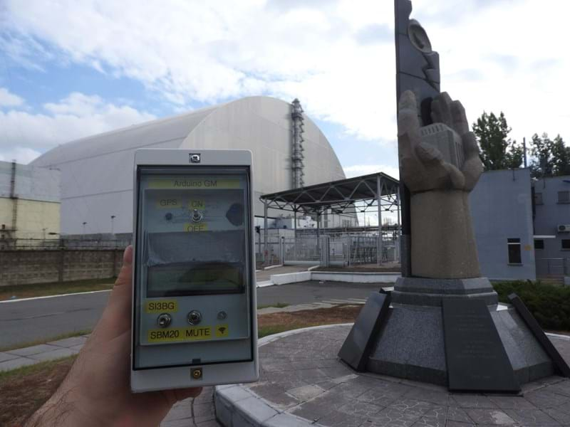Chernobyl visit with Arduino Geiger counter